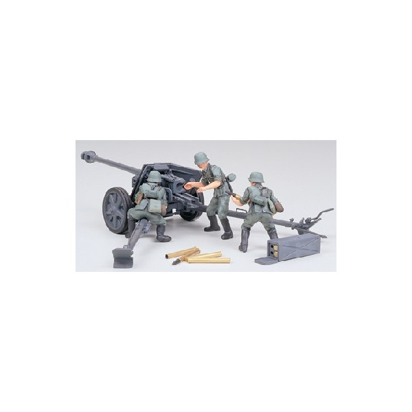 CAÑON ANTICARRO PAK 40/L46 (75 mm) -Escala 1/35- Tamiya 35047
