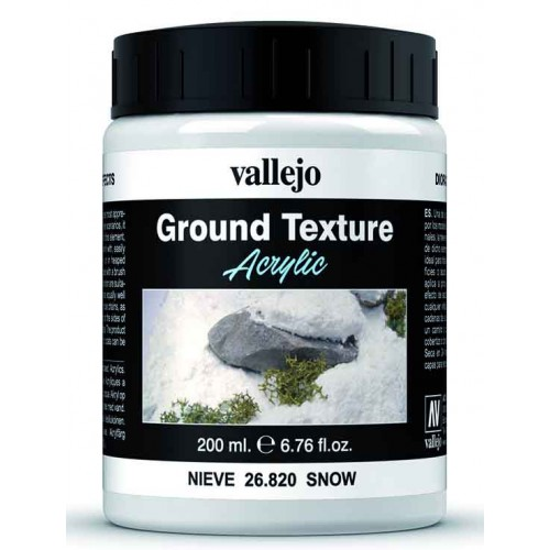 Weathering Effects: (200 ml) NIEVE - Acrylicos Vallejo 26820