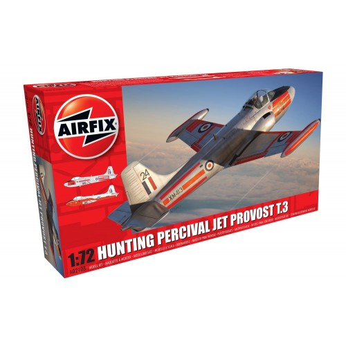HUNTING PERCIVAL JET PROVOST T.3 - Airfix A02103