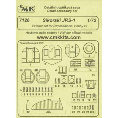 SET RESINA SIKORSKY JRS-1 1/72 - CMK 7126