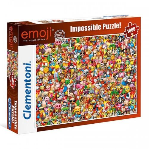 PUZZLE 1000 PZS EMOTICONOS IMPOSIBLE - CLEMENTONI 39388