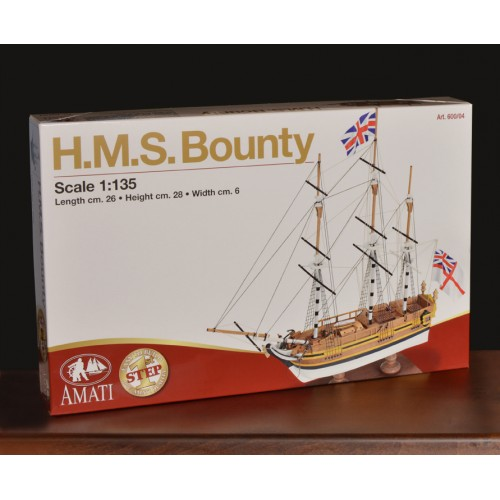 H.M.S. BOUNTY 1/135 - Amati 600/04