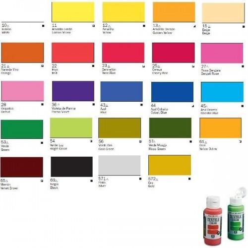 Textile Color: MARRON CLARO (60 ml) - Acrilicos Vallejo 40064