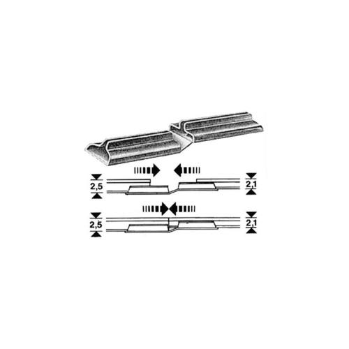 CLIPS UNION VIA DIFERENTES ALTURAS H0 (20 unidades) - FLEISCHMANN 6437