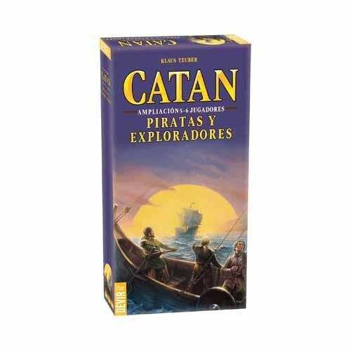 COLONOS DE CATAN: 5 Y 6 JUGADORES - PIRATAS Y EXPLORADORES
