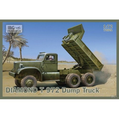CAMION DIAMOND T972 DUMPER - IBG 72021