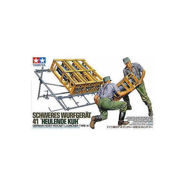 LANZACOHETES M-41 -HUELENDE KUH- 1/35 - Tamiya 35155