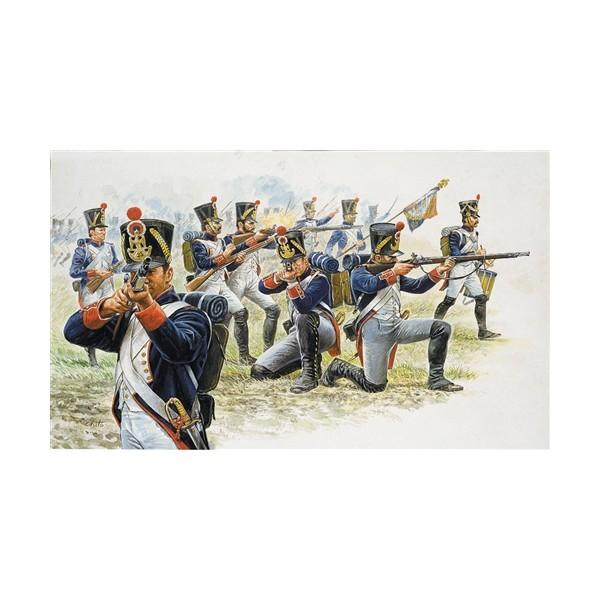 INFANTERIA DE LINEA FRANCESA 1805-1812 -Escala 1/72- Italeri 6002