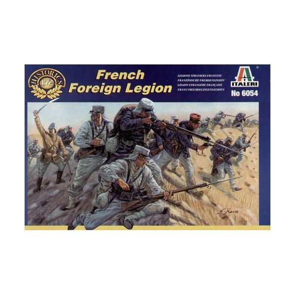 LEGION EXTRANJERA FRANCESA - escala 1/72 - italeri 6054 - 50 figuras sin pintar