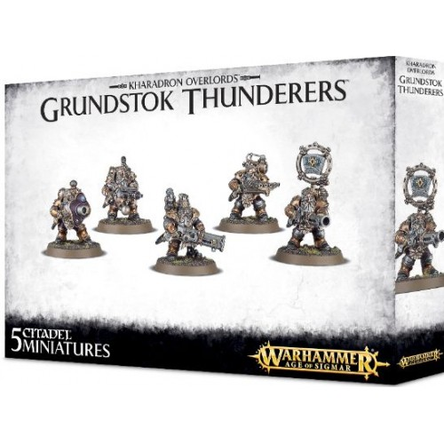 KHARADRONS OVERLORD GRUNDSTOK THUNDERERS - GAMES WORKSHOP 84-37