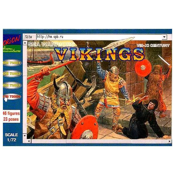 VIKINGOS (Siglo VIII - XI)-Escala 1/72- Orion 72004