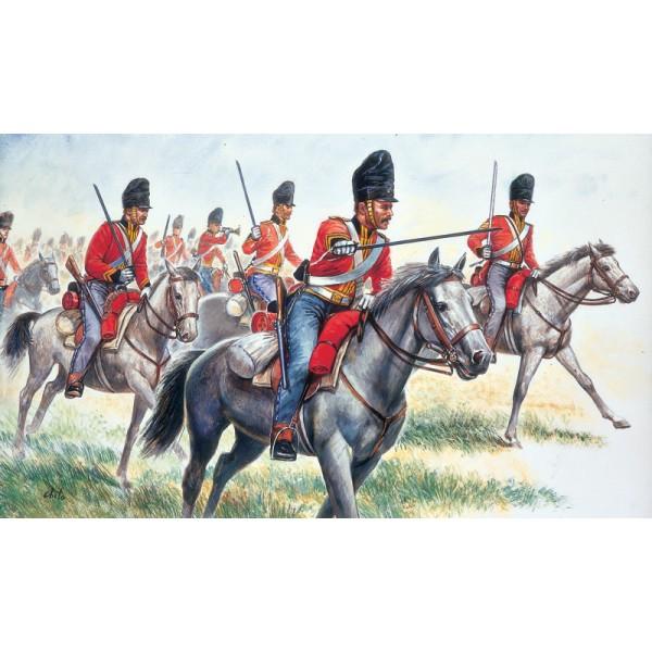 CABALLERIA BRITANICA SCOTS GREYS (1815) -Escala 1/72- Italeri 6001