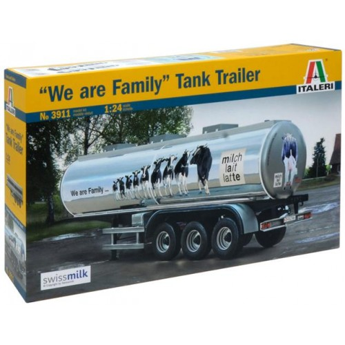 TRAILER CUBA -We are Family- Italeri 3911 - ESCALA 1/24
