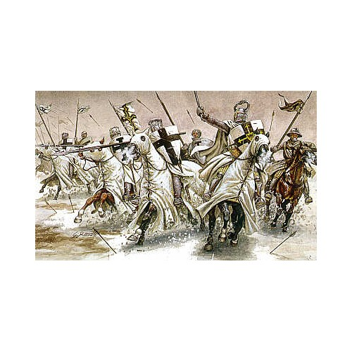 CABALLEROS TEUTONICOS SIGLO XII-XIII ESCALA 1/72 17 MINIATURAS ITALERI 6019