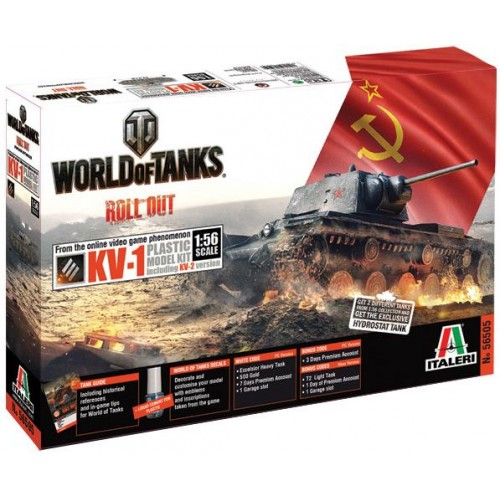 World of Tanks: KV-1 - Italeri 56505