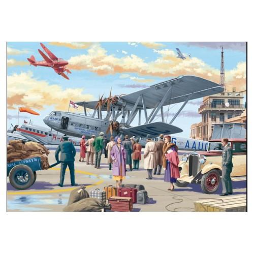 PUZZLE 500 pzas. CROYDON AIRPORT, Vic McLindon - Jumbo 11153