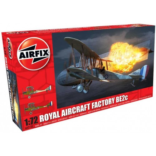ROYAL AIRCRAFT FACTORY BE2c - Airfix A02101