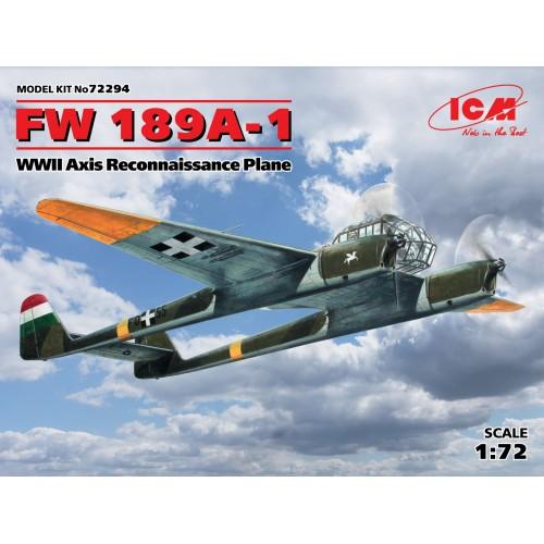 FOCKE WULF FW-189A-1 (Aliados Eje) - ICM 72294