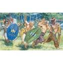 GUERREROS GALOS SIGLO I Y II D.C. (40 figuras) 1/72