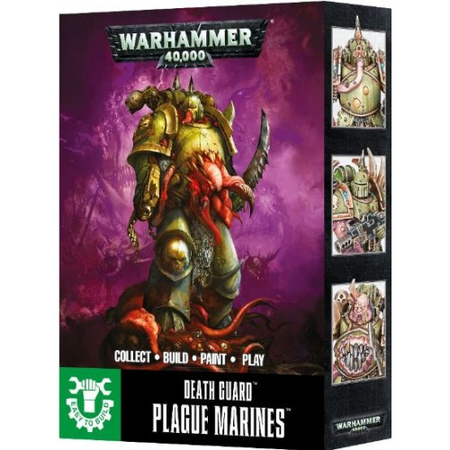 DEATH GUARD PLAGUE MARINES EASY TO BUILD - GAMES WORKSHOP 43-30