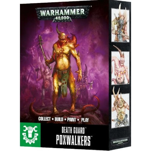 DEATH GUARD POXWALKERS EASY TO BUILD - GAMES WORKSHOP 43-41