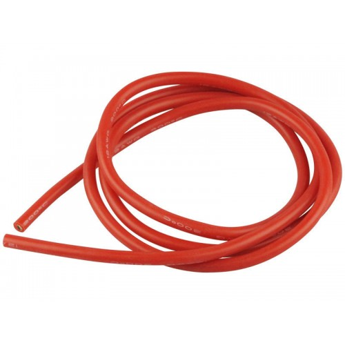 CABLE SILICONA ROJO 1.5MM (AWG 16) 1 METRO