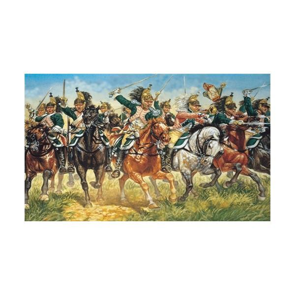 DRAGONES A CABALLO FRANCESES -Escala 1/72- Italeri 6015