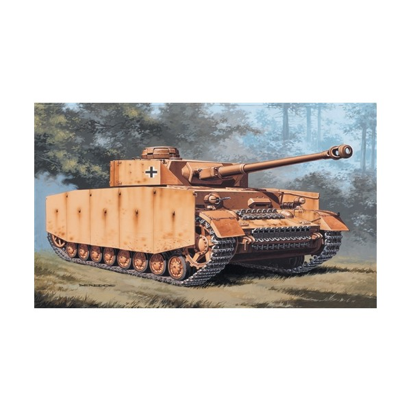 CARRO DE COMBATE SD.KFZ.161 PANZER IV Ausf. H -Escala 1/72- Italeri 7007