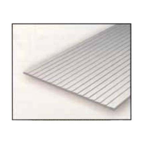 HOJA PLASTICO REVESTIMIENTO TABLAS 1,0 mm Sep. 0,75 mm (300 x 150 mm)