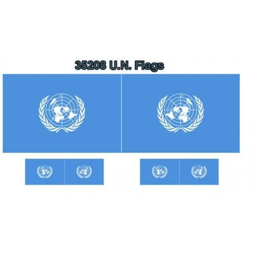 BANDERA: NACIONES UNIDAS (O.N.U.)