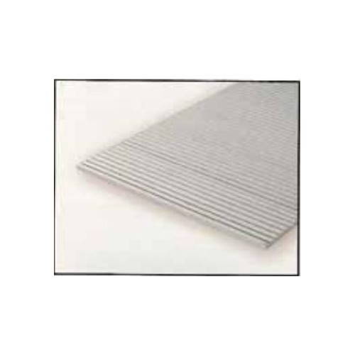 HOJA PLASTICO GRABADA-V 0,5 mm Sep. 2,5 mm (300 x 150 mm)