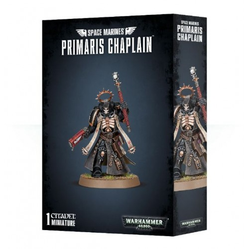 SPACE MARINES PRIMARIUS CHAPLAIN - Games Workshop 4862