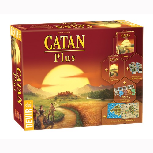 CATAN: COLONOS DE CATAN PLUS 2019