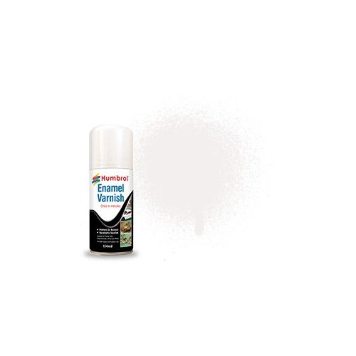 SPRAY BARNIZ BRILLANTE ESMALTE (150 ml) - Humbrol AD6997