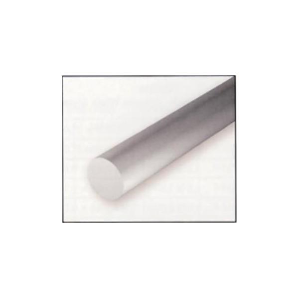 VARILLA PLASTICO REDONDA (0,5 x 360 mm) 10 unidades