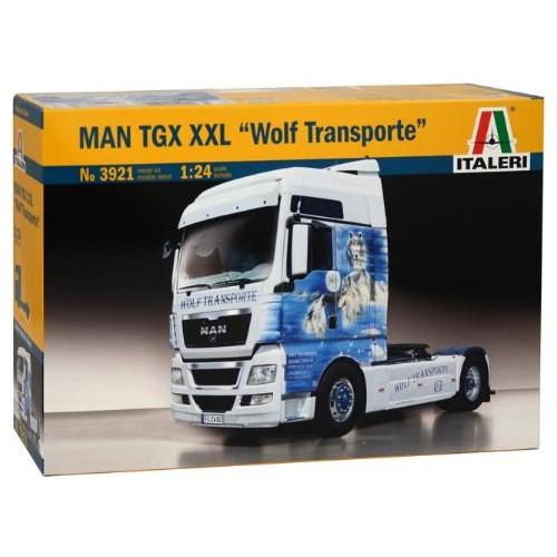 MAN TGX XXL WOLF TRANSPORTE 1/24 - ITAleri 3921
