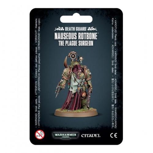 DEATH GUARD NAUSEOUS ROTBONE, The Plague Surgeon - Games Worshop 4329