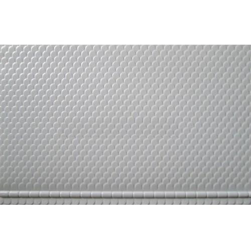 LAMINA TEJADO PASTICO (19 x 35,50 mm) 2 unidades - JTT 97439