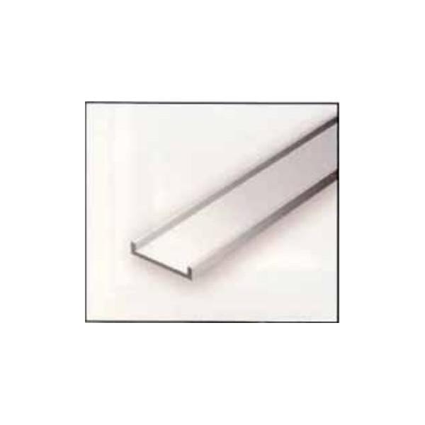 CANALETAS EN U (7,9 x 360 mm) 3 unidades