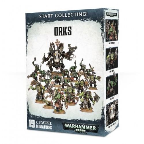 START COLLECTING ORKS - GAMESWORKSHOP 70-50