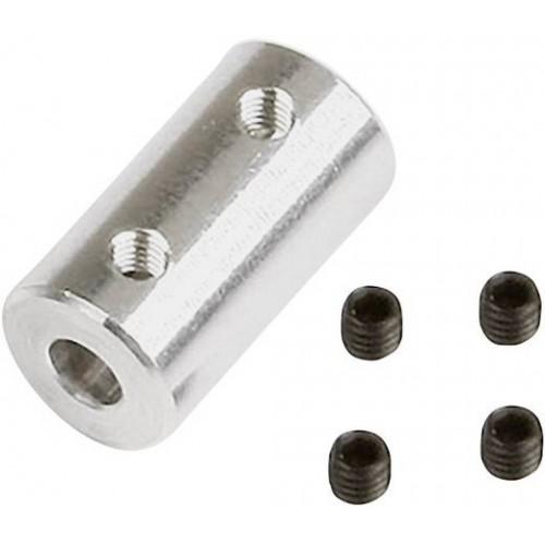 ACOPLAMIENTO ALUMINIO DE 4mm A 4mm - GRAUPNER SZ1018.10