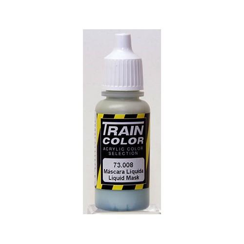 PINTURA ACRILICA MASCARA LIQUIDA (17 ml) TRAIN COLOR