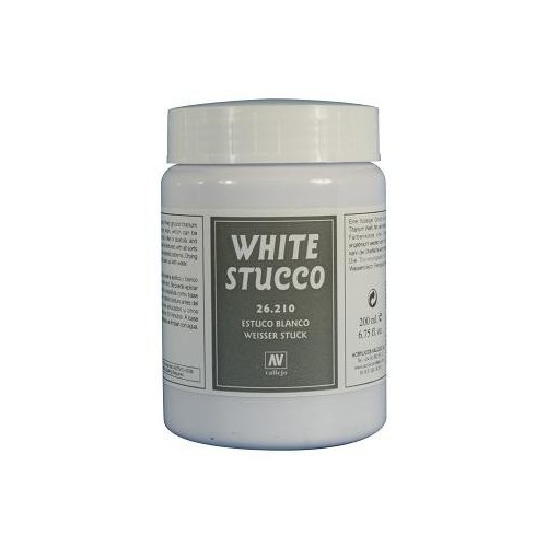 MASILLA STUCCO BLANCO (200 ml)