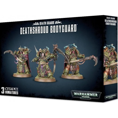 DEATH GUARD DEATHSHROUD BODYGUARD - GAMES WORKSHOP 43-50