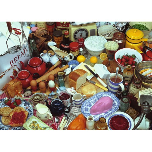 PUZZLE 1000 Pzas COOKING UP A FEAST (700 X 500 mm) - Ravensburger 19583