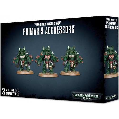 DARK ANGELS PRIMARIS AGRESSORS - GAMES WORKSHOP 44-74