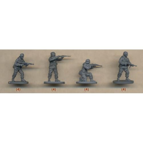 UNIDAD ALEMANA (Invierno) & CAÑON PAK-36 - Caesar Miniatures H097