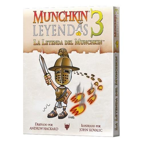 MUNCHKIN LEYENDAS 3 LA LEYENDA DEL MUNCHKIN