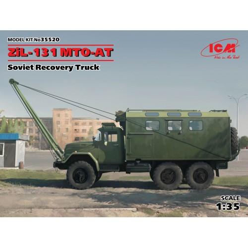 CAMION ZIL-131 MTO-AT (Recuperacion) -1/35- ICM 35520