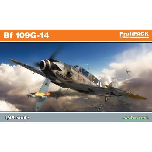 MESSERSCHMITT BF109 G-14 - PROFIPACK - ESCALA 1/48 - EDUARD 82118